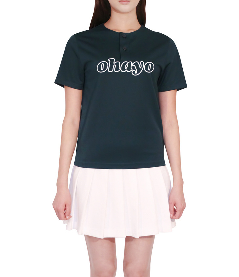 [16 s/s Uniform]Ohayo T-shirts Green