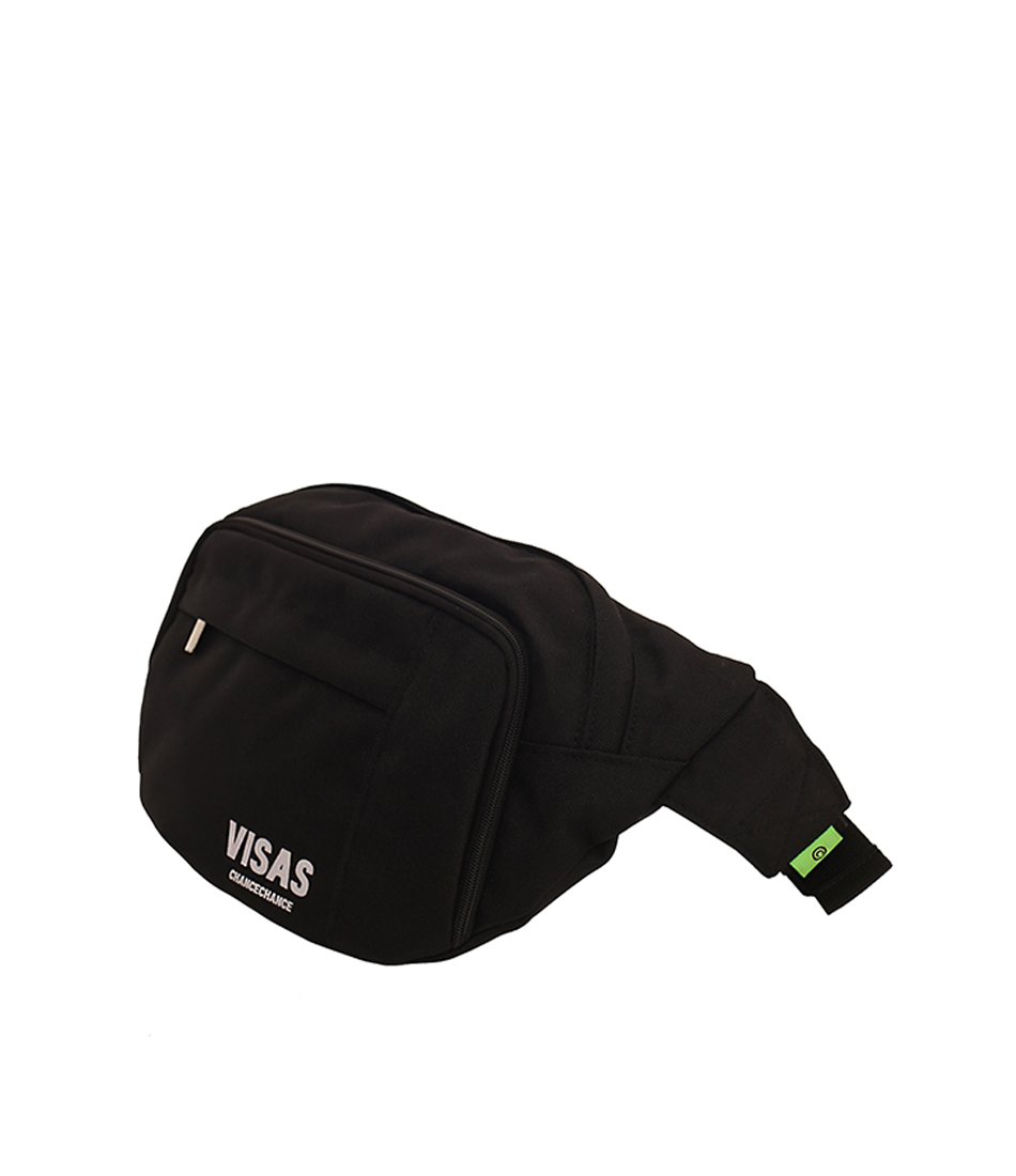 VISAS hip sack(BLACK)