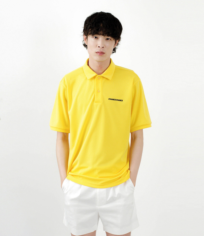 [16 s/s Go on a Trip]Cool PK half-sleeve shirt(YELLOW)
