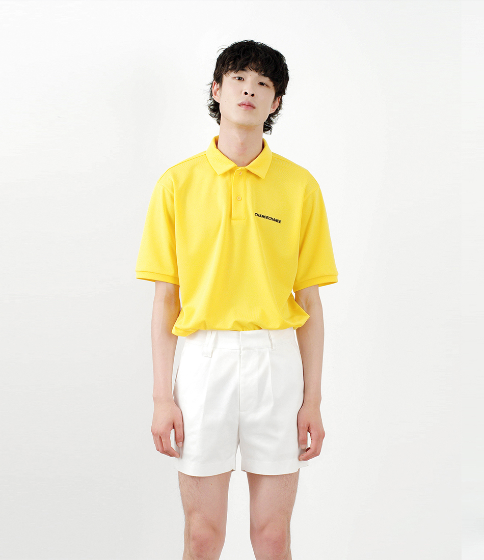 Regular fit shorts pants(WHITE)