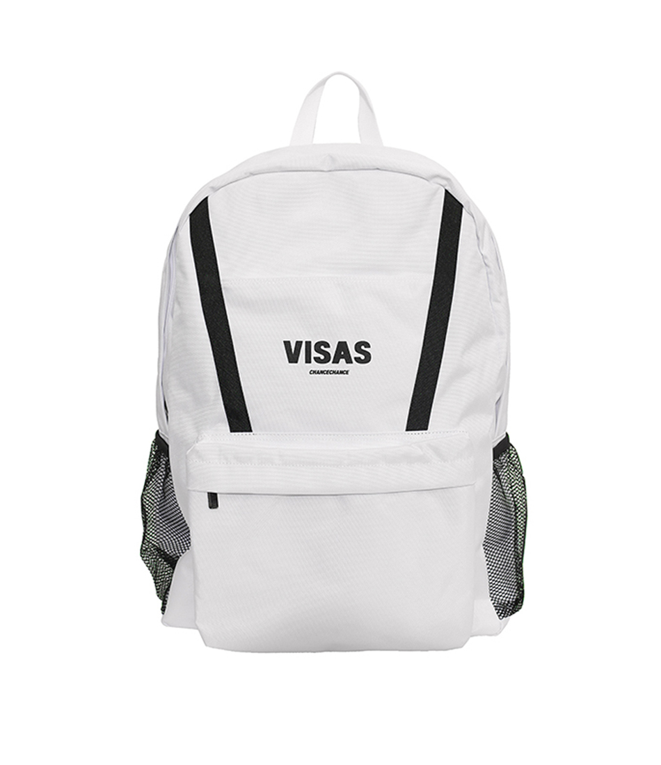 VISAS backpack(WHITE)