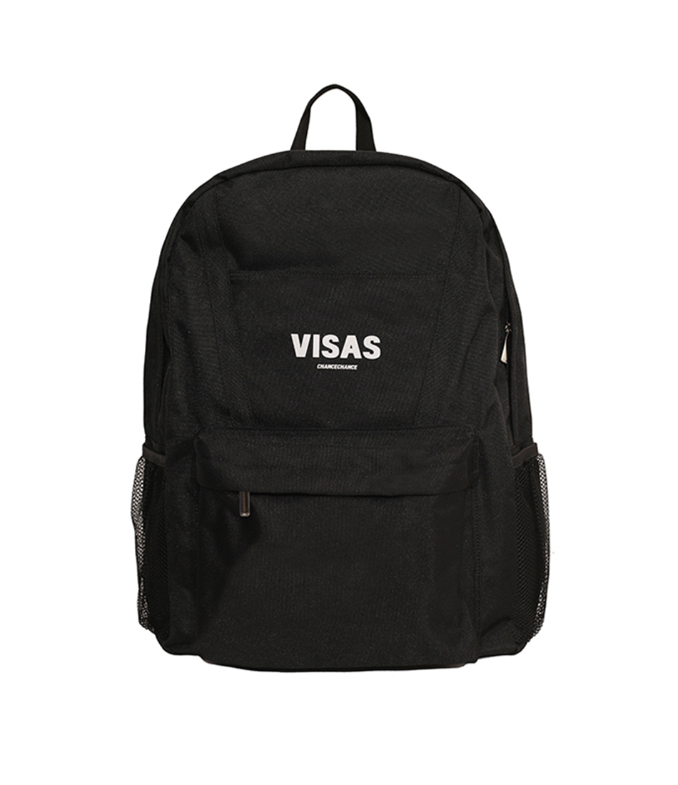 VISAS backpack(BLACK)