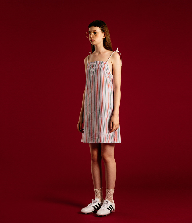 [16 Summer Collection]Slip Onepiece(Stripe)