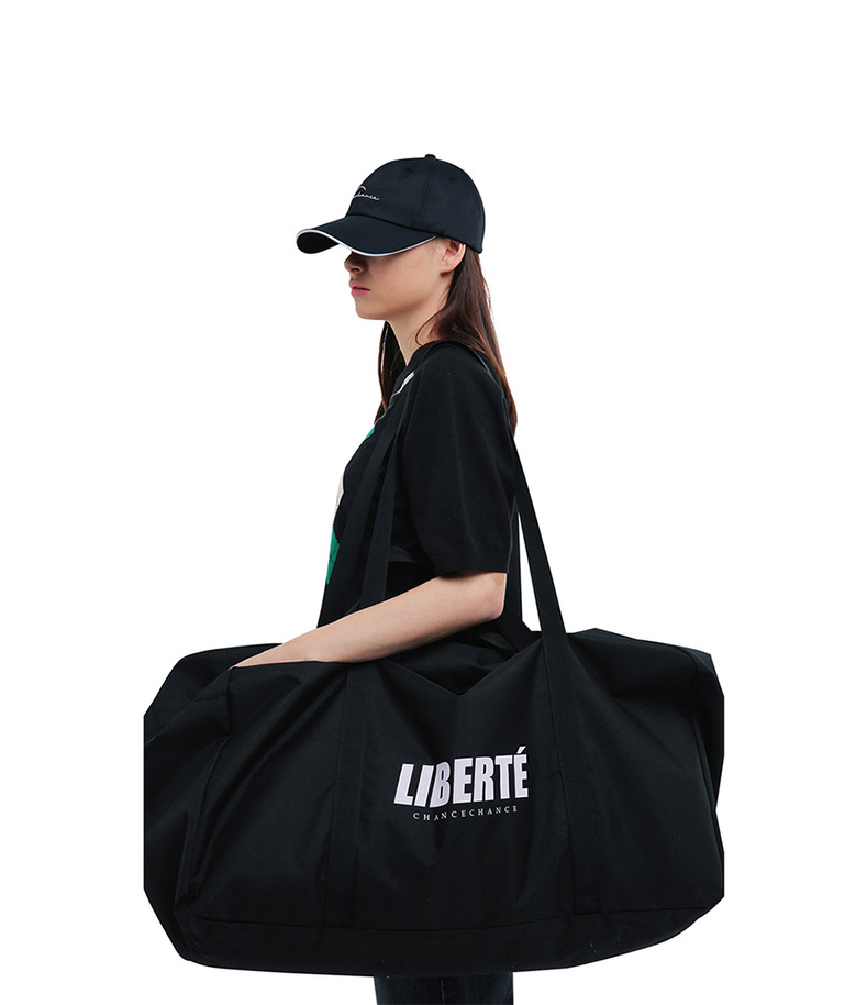 "[17s/s ""Liberté""]Sports Bag(Black)"