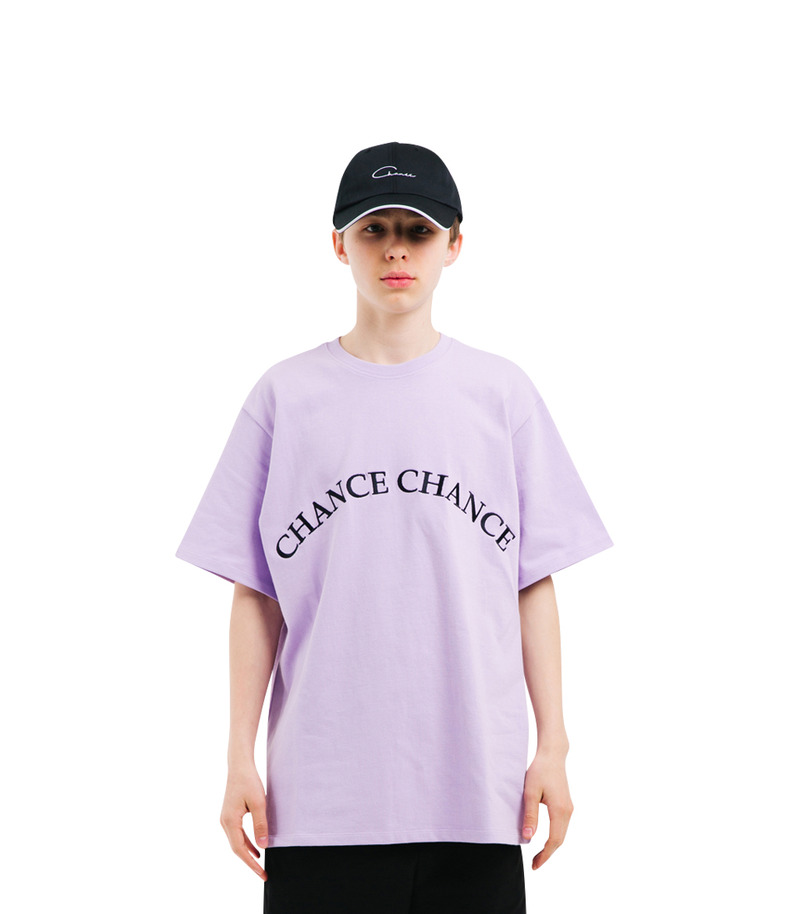 CHANCECHANCE T-Shirt(Purple)