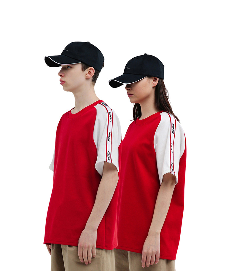 "[17s/s ""Liberté""]Raglan Sleeve T-Shirt(Red)"