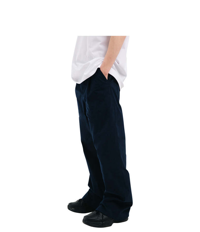 "[17s/s ""Liberté]Cotton Wide Pants(Navy)"