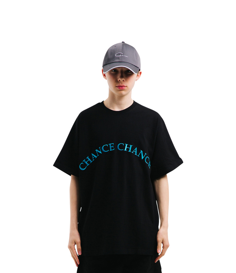 CHANCECHANCE T-Shirt(Black)