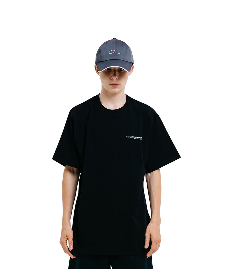 CHANCECHANCE Original T-Shirt(Black)