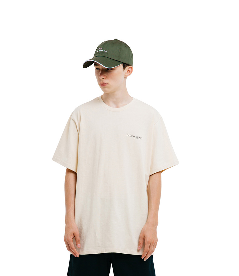 CHANCECHANCE Original T-Shirt(Ivory)