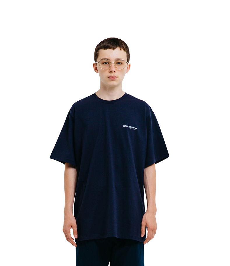 CHANCECHANCE Original T-Shirt(Navy)