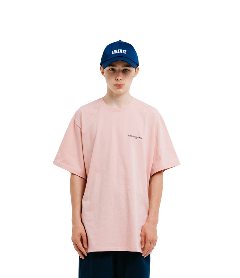 CHANCECHANCE Original T-Shirt(Pink)