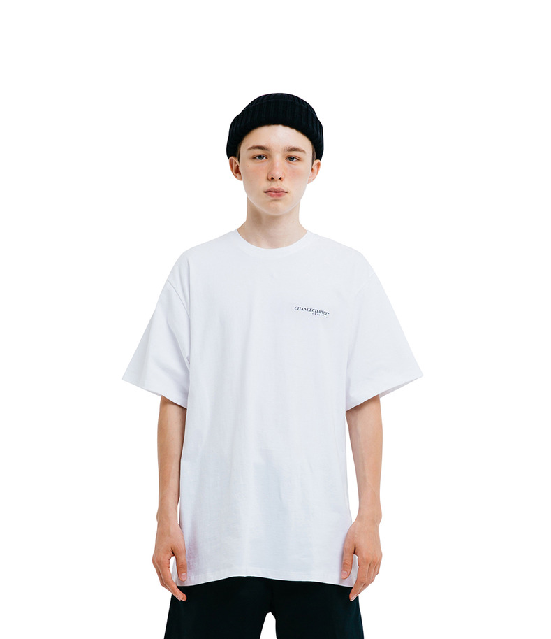 CHANCECHANCE Original T-Shirt(White)