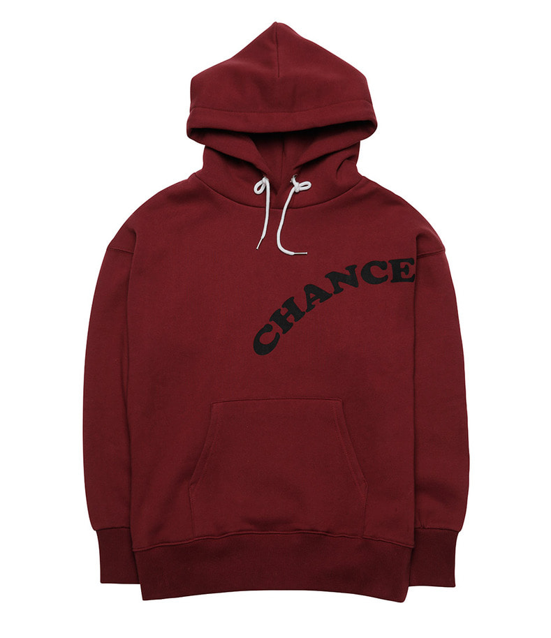 CHANCE Hoody-T(Burgundy/기모)