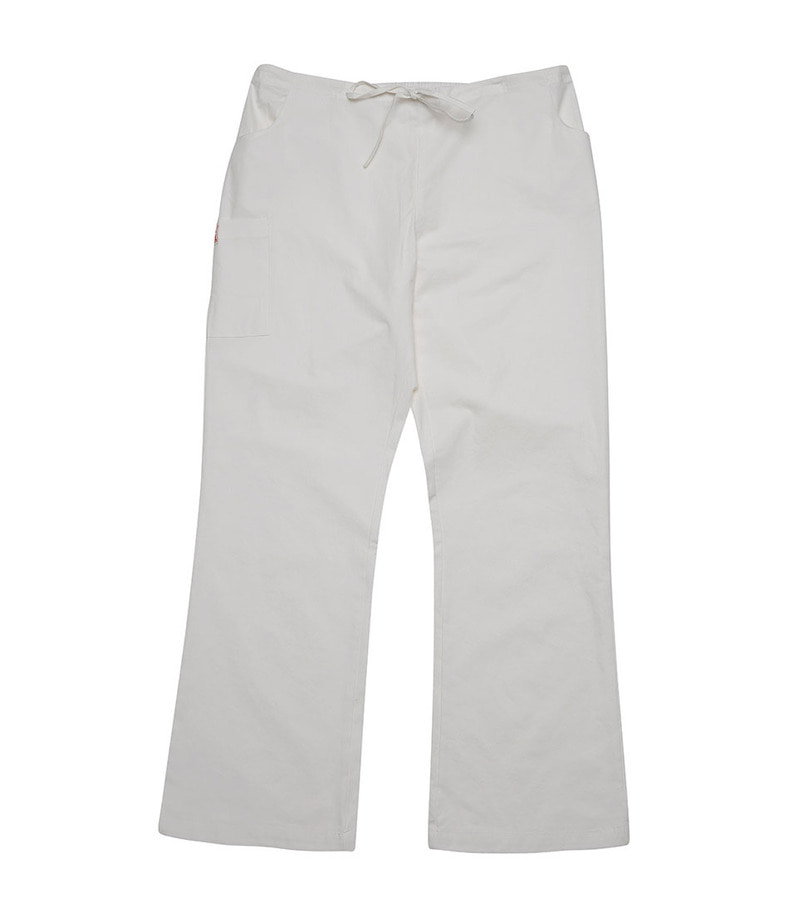 Label Pants(White)