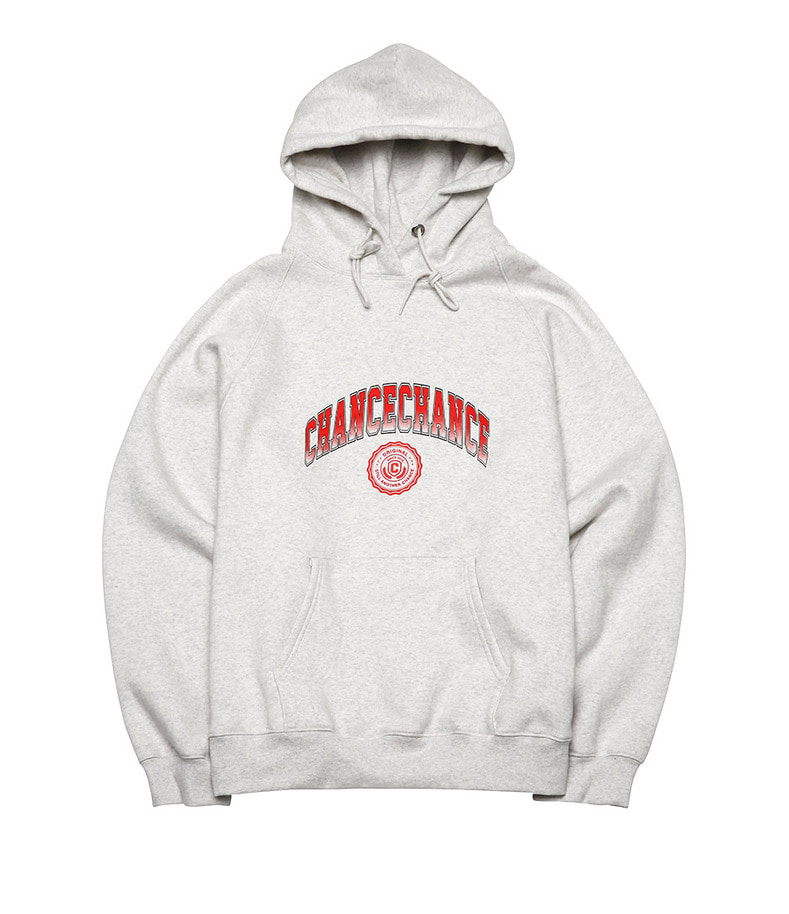 Chance Univ Hoody-T(Red/기모)