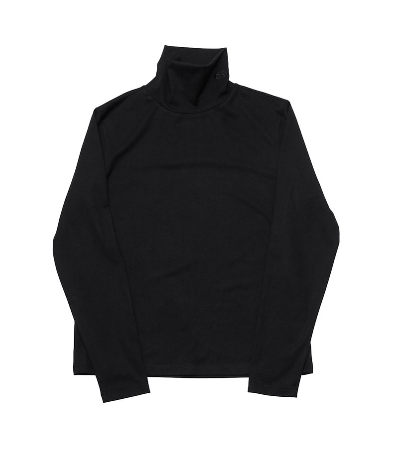 Basic Turtleneck(Black)