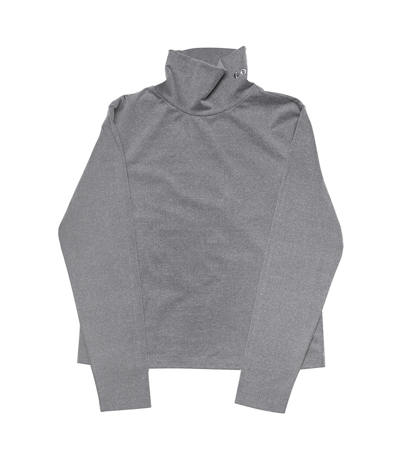 Basic Turtleneck(Gray)
