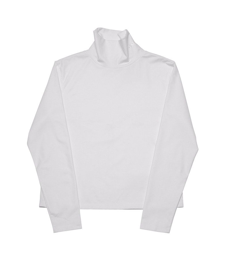 Basic Turtleneck(White)