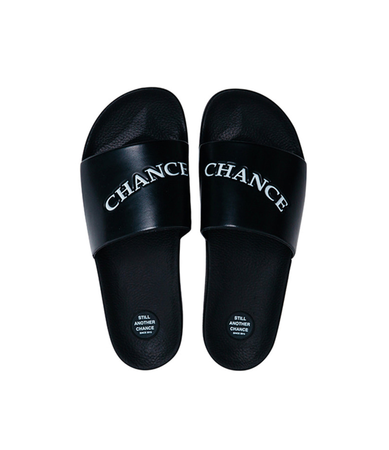CHANCECHANCE Slipper(Black)