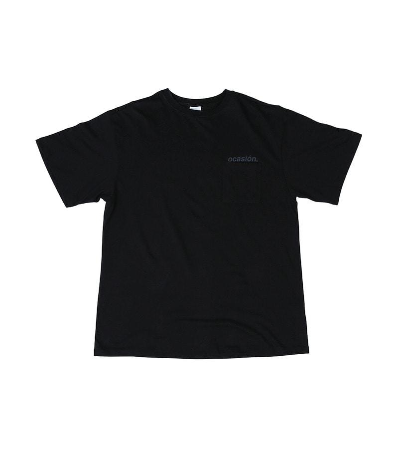 Ocasión Pocket T-Shirt(Black)
