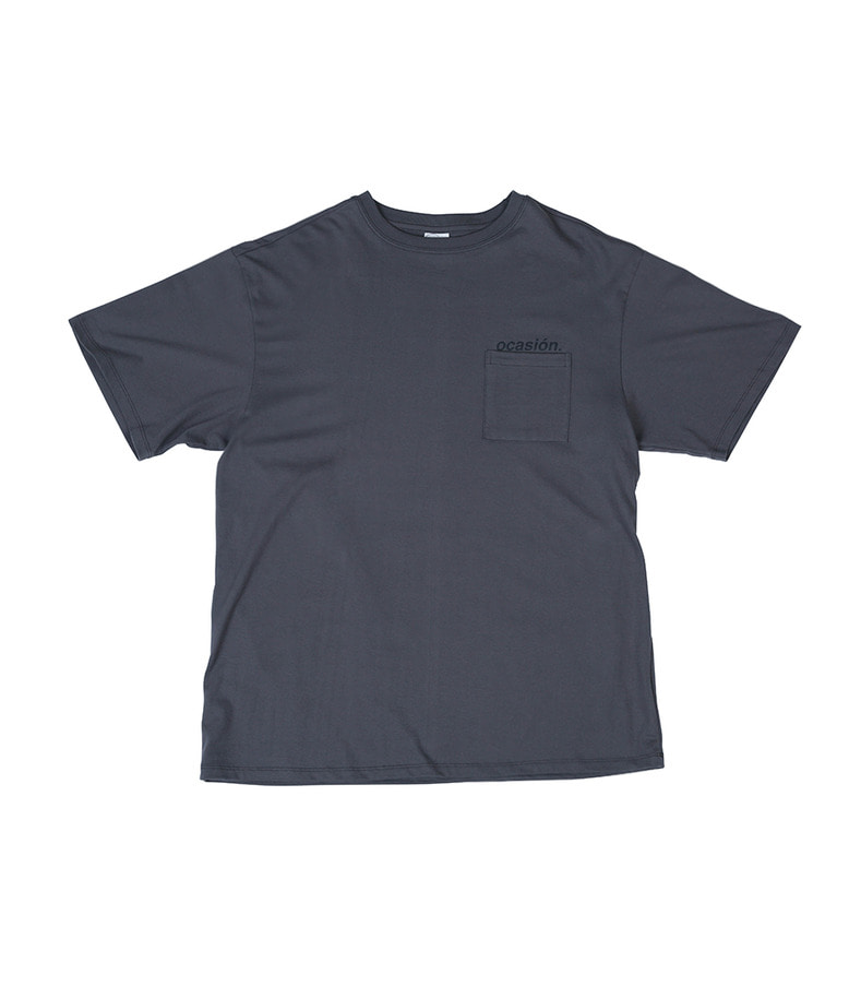 Ocasión Pocket T-Shirt(Charcoal)