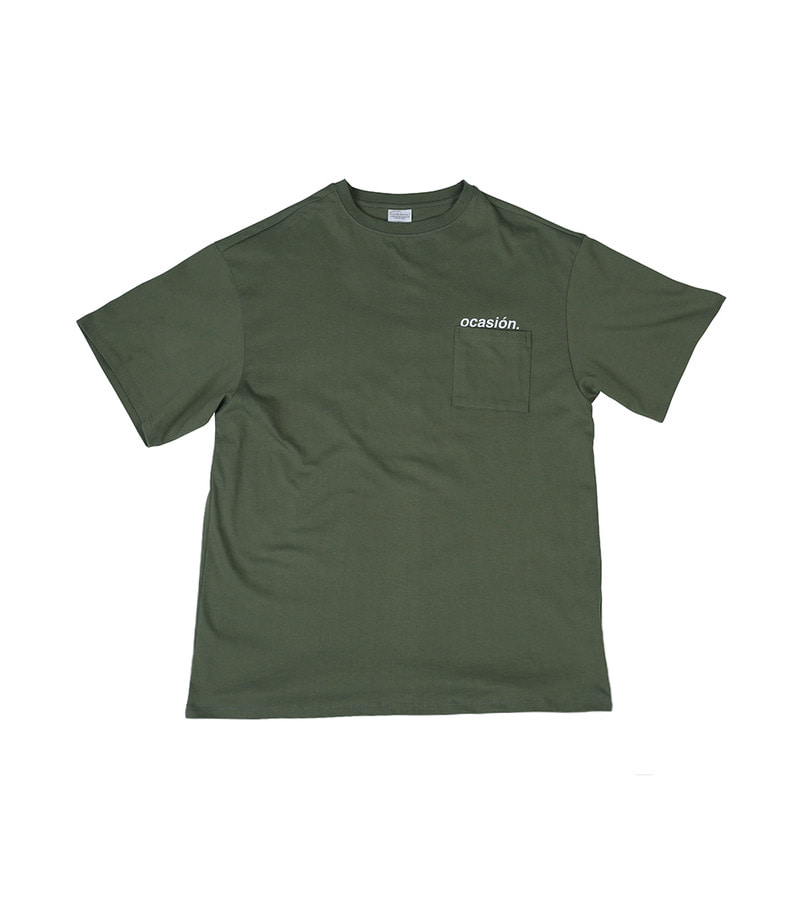 Ocasión Pocket T-Shirt(Khaki)