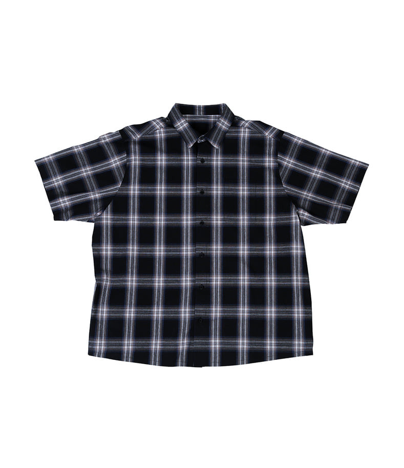 Short Sleeve Shirt(Check)