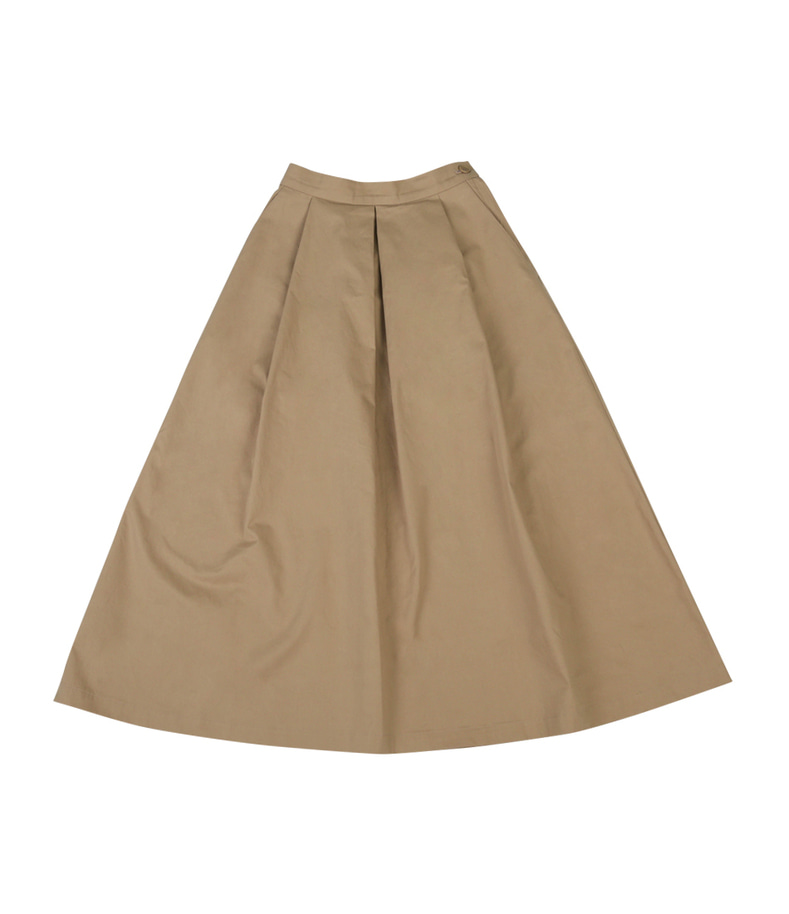 Banding Long Skirt(Beige)