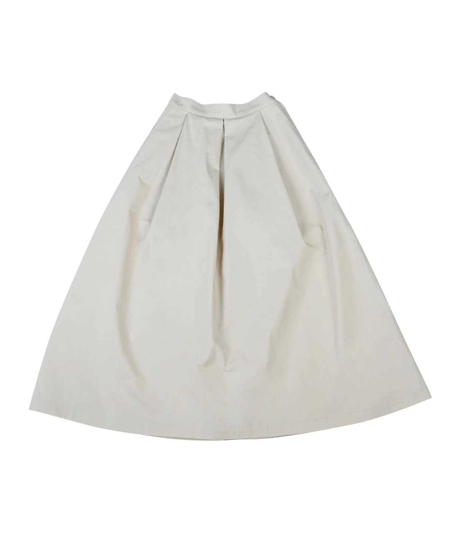 Banding Long Skirt(Ivory)