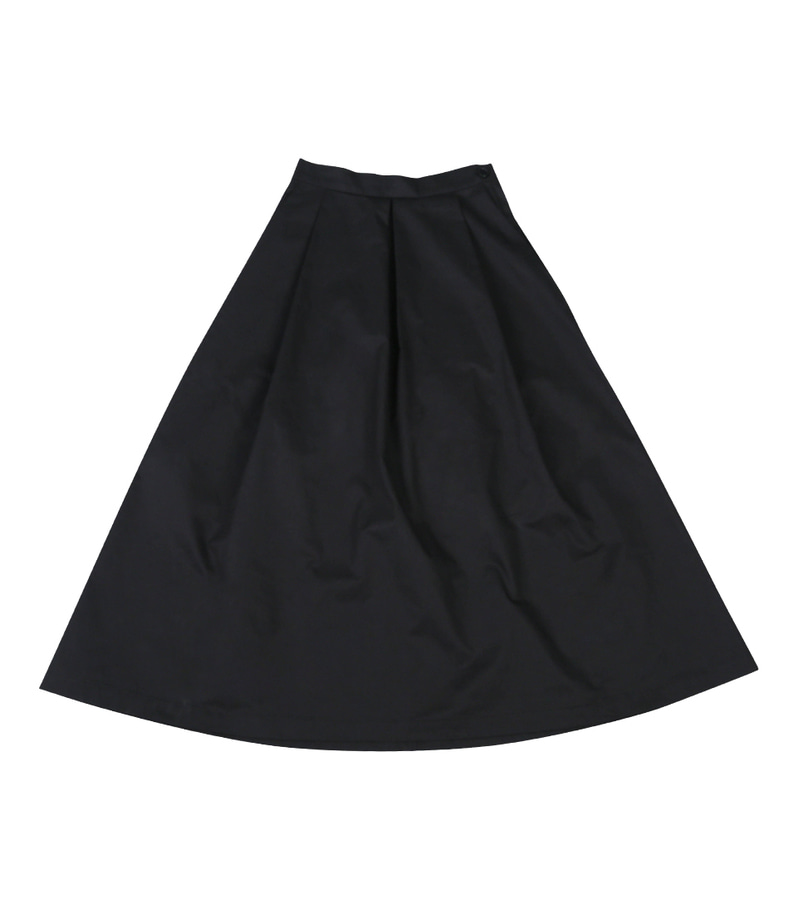 Banding Long Skirt(Black)