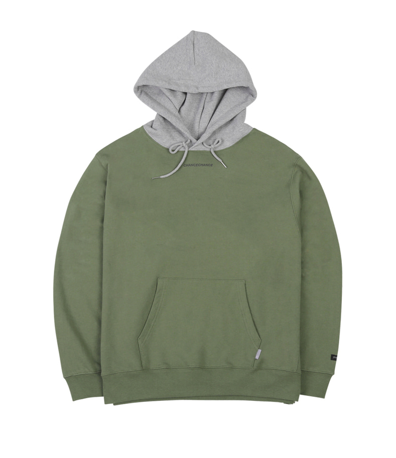 Chancechance Hoody-T(Gray/Khaki)