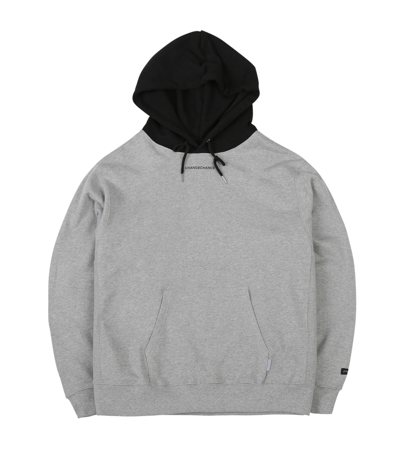 Chancechance Hoody-T(Black/Gray)
