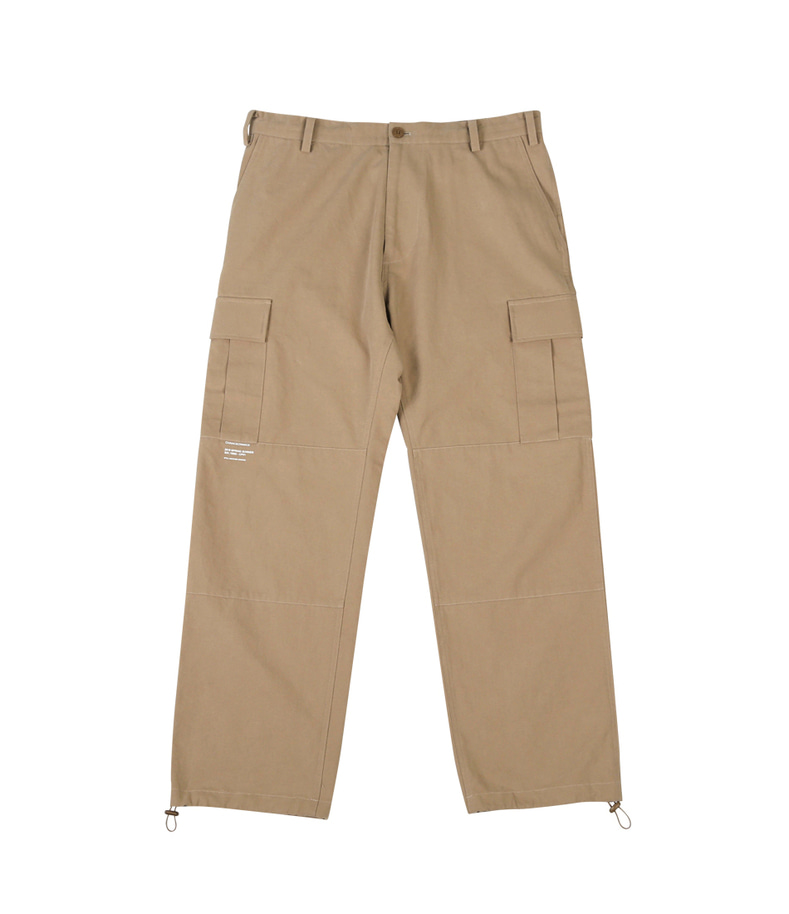 Pocket String Pants(Beige)