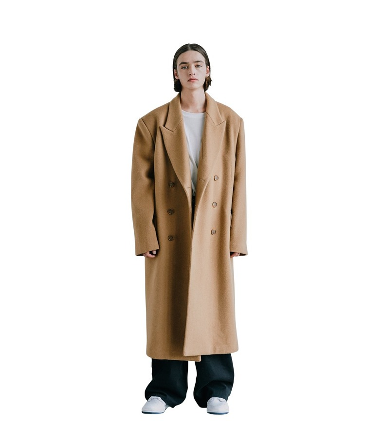 Wool Over Coat(Beige)