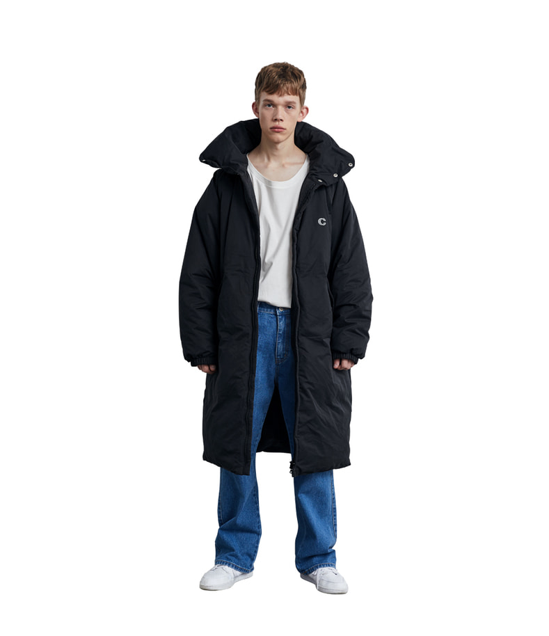 Long Down Parka(Black)