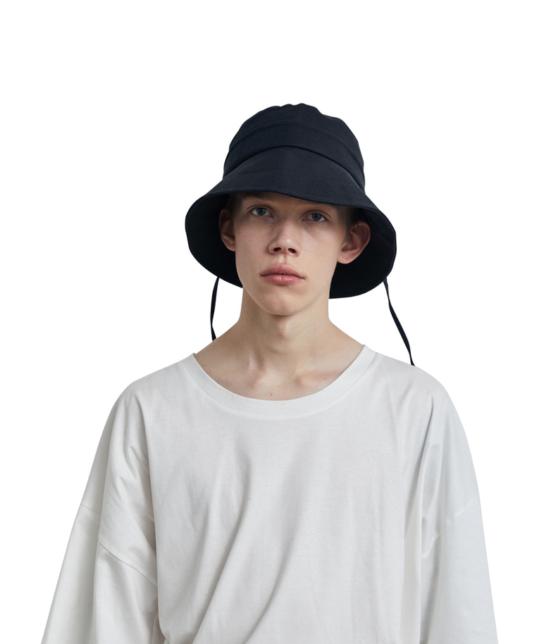 C Logo Bucket Hat(Black)