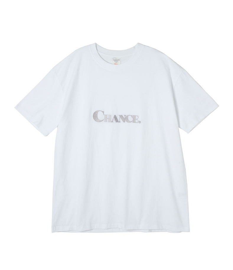 CHANCE T-SHIRT(WHITE)