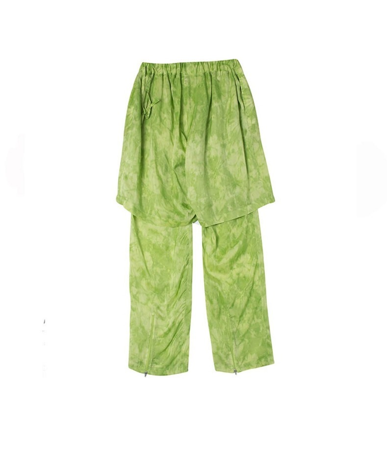 LAYERED PANTS(GREEN)