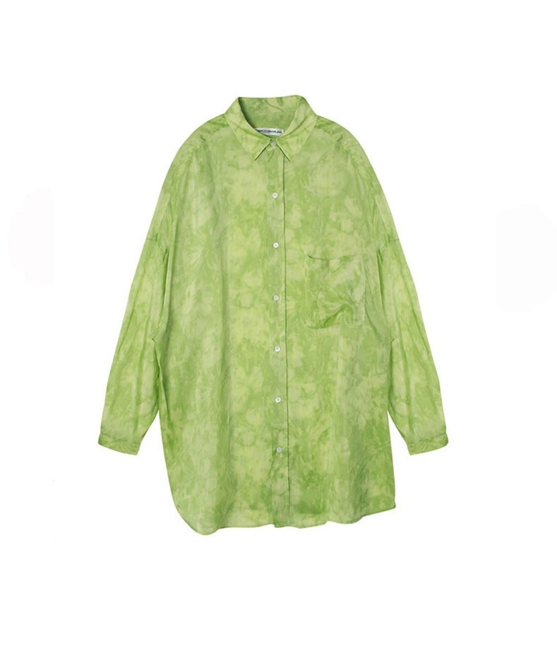 OVERSIZED SHIRT(GREEN)