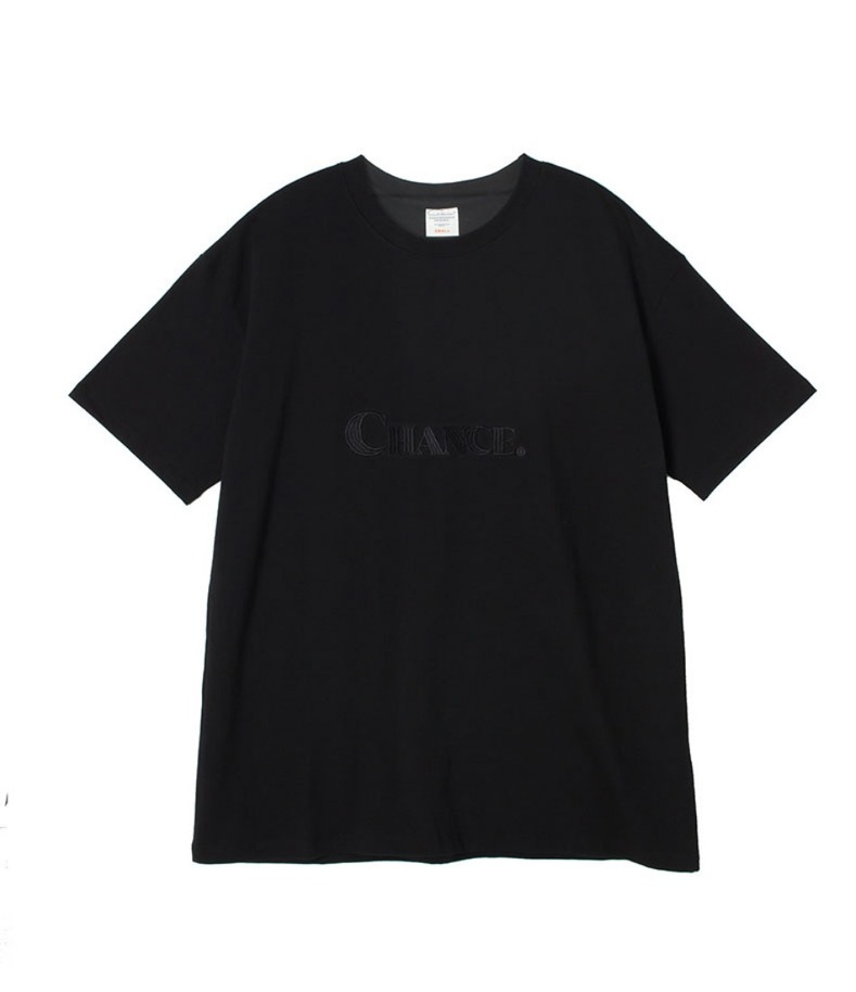 CHANCE T-SHIRT(BLACK)