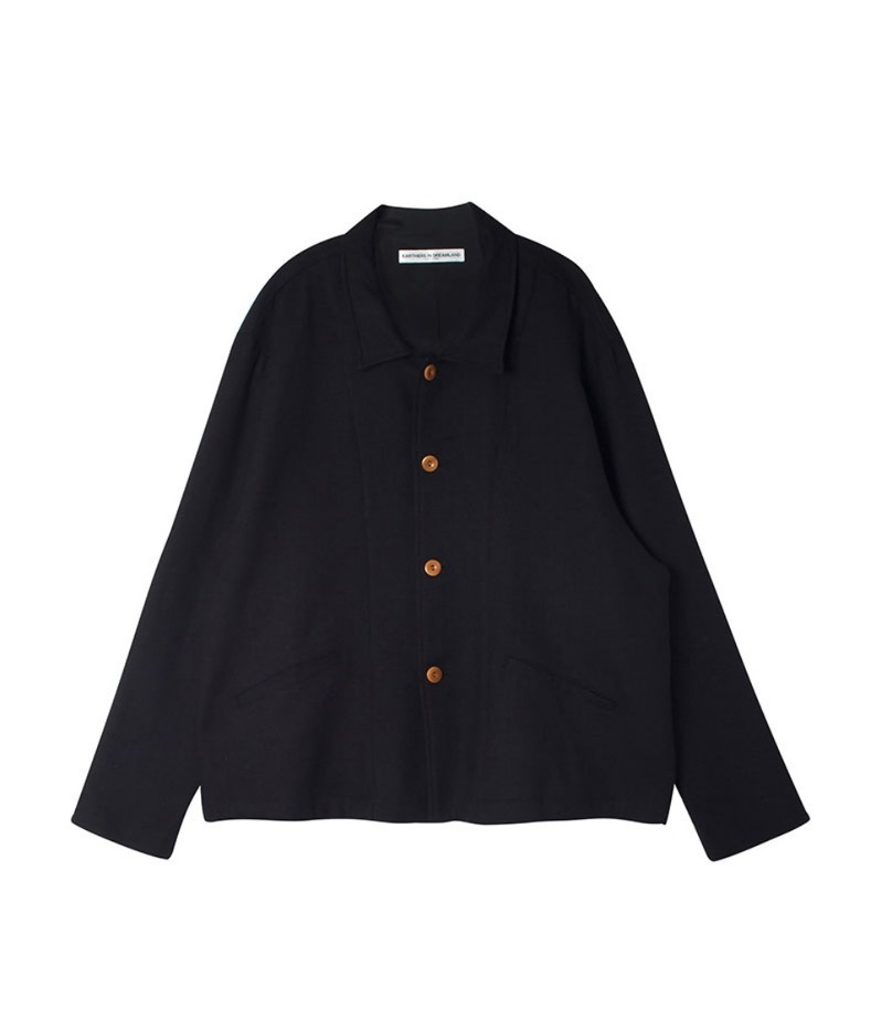 FOUR BUTTON JACKET(BLACK)