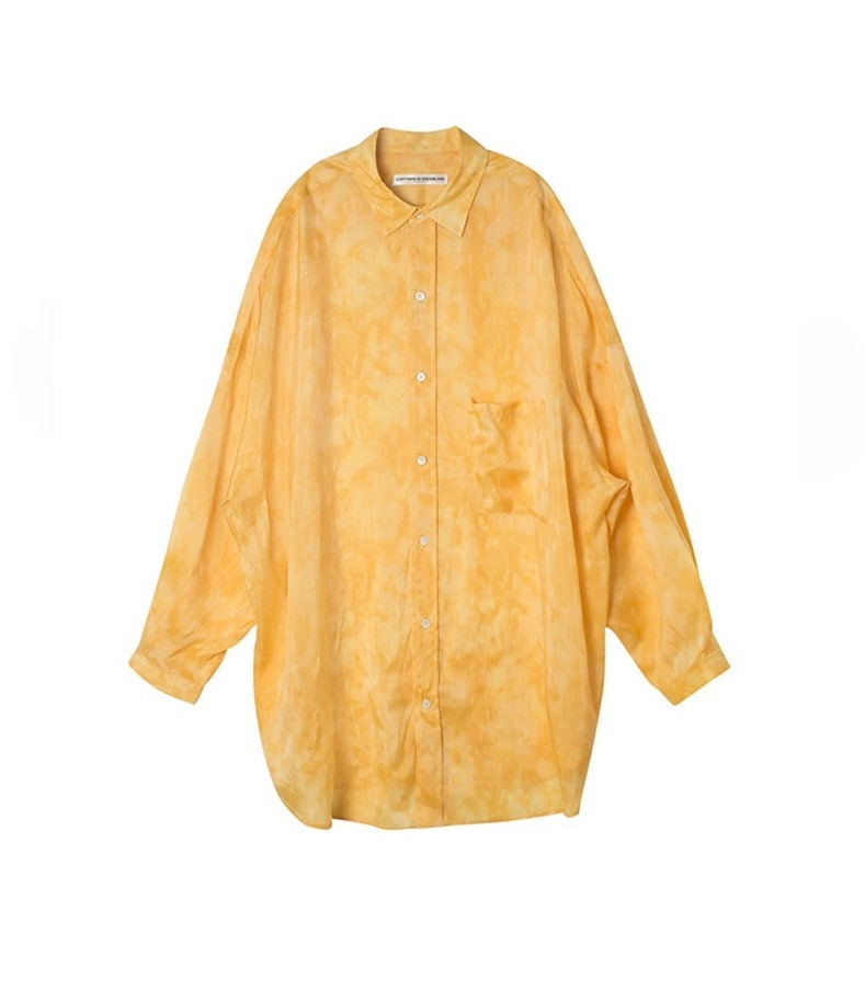 OVERSIZED SHIRT(YELLOW)