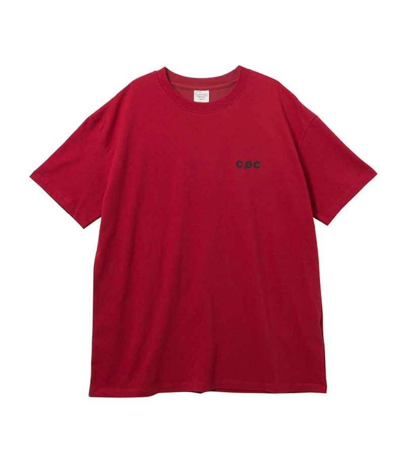 MINI CEC T-SHIRT(RED)