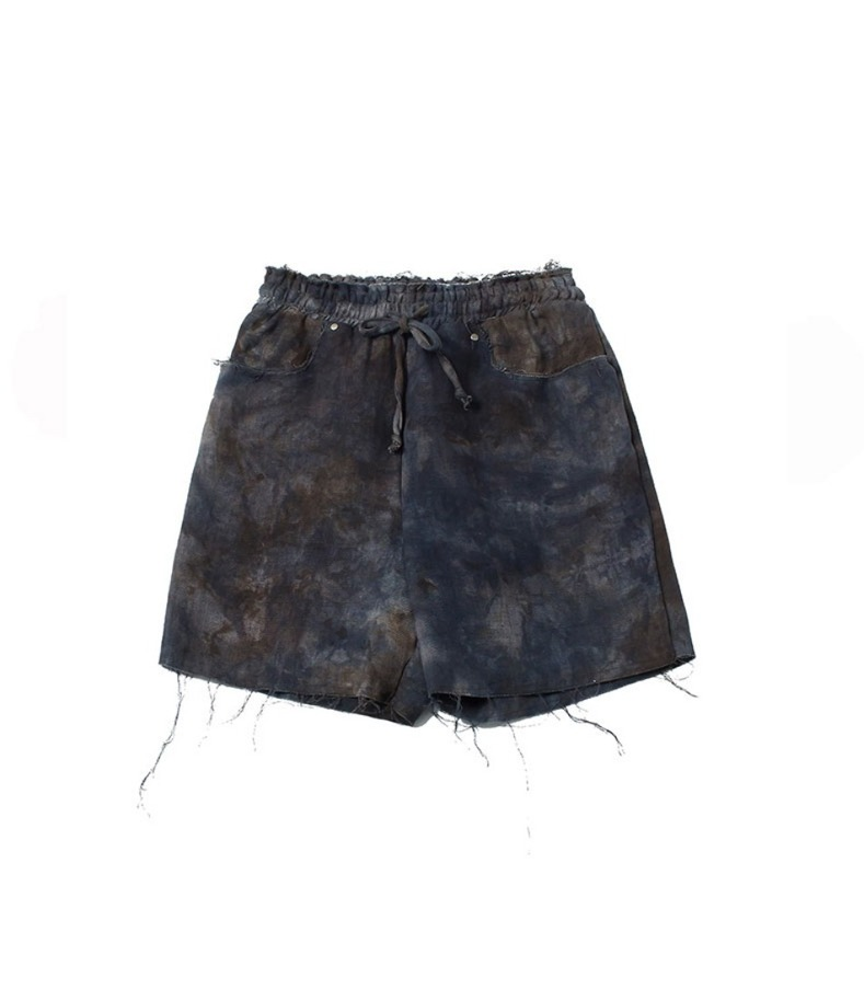 RAW SHORTS(BROWN)