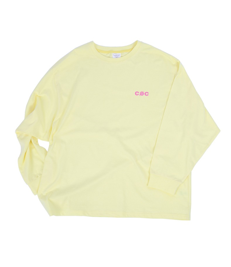CEC LONGSLEEVE T-SHIRT(YELLOW)