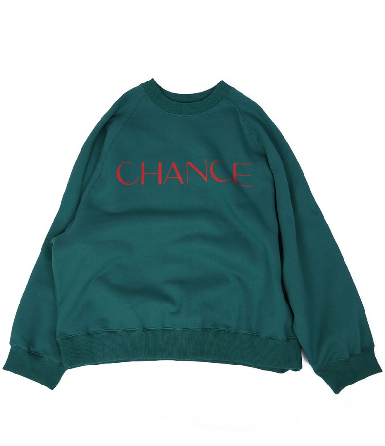 CHANCE RAGLAN MTM(GREEN/기모)