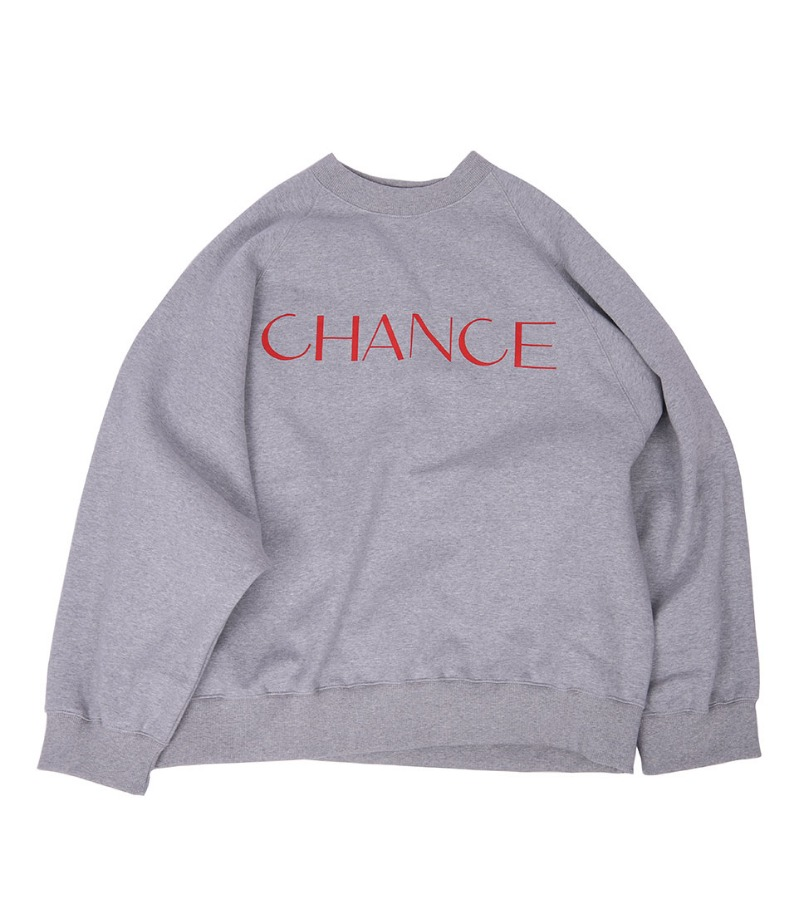 CHANCE RAGLAN MTM(GRAY/기모)
