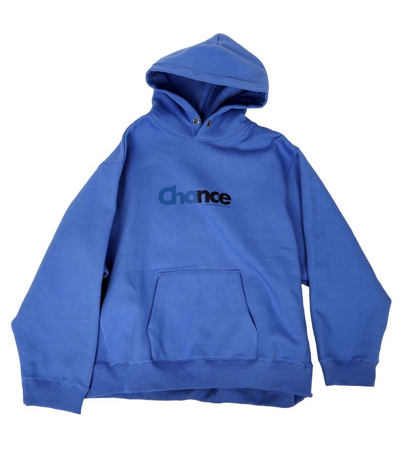 CHANCE HOODY-T(BLUE/기모)