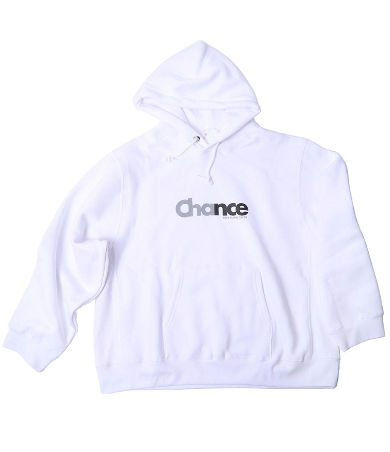 CHANCE HOODY-T(WHITE/기모)